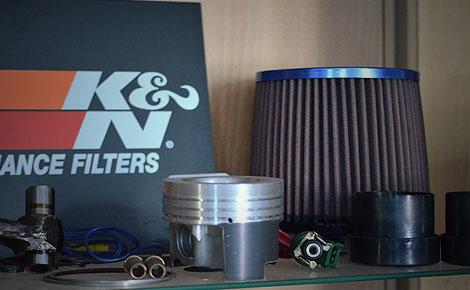 Sportluftfilter - K&N 57i Performance Kits